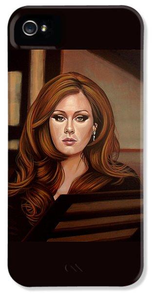 Adele IPhone 5s Case by Paul Meijering