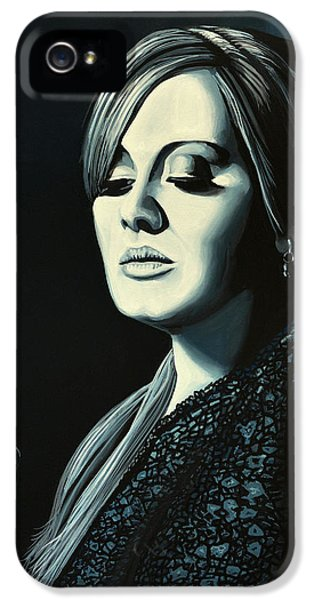 Music iPhone 5s Case - Adele 2 by Paul Meijering