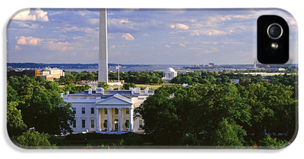 Aerial, White House, Washington Dc IPhone 5s Case by Panoramic Images