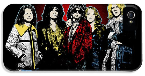 Aerosmith - 1970s Bad Boys IPhone 5s Case by Epic Rights