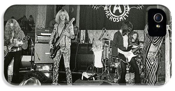 Aerosmith - Aerosmith Tour 1973 IPhone 5s Case by Epic Rights