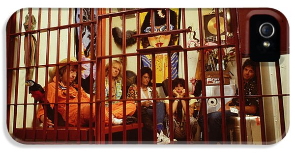 Aerosmith - In A Cage 1980s IPhone 5s Case by Epic Rights