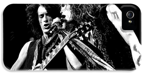 Aerosmith - Joe Perry & Steve Tyler IPhone 5s Case by Epic Rights