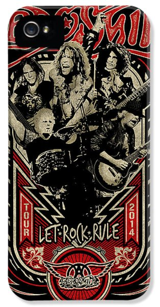 Aerosmith - Let Rock Rule World Tour IPhone 5s Case by Epic Rights