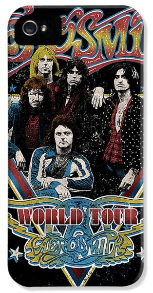 Aerosmith - World Tour 1977 IPhone 5s Case by Epic Rights