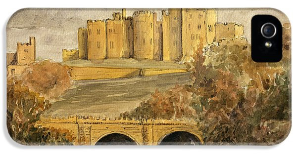 Castle iPhone 5s Case - Alnwick Castle by Juan  Bosco
