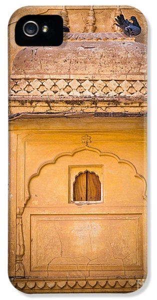 Amber Fort Birdhouse IPhone 5s Case by Inge Johnsson