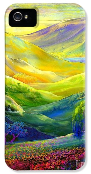 Wildflower Meadows, Amber Skies IPhone 5s Case