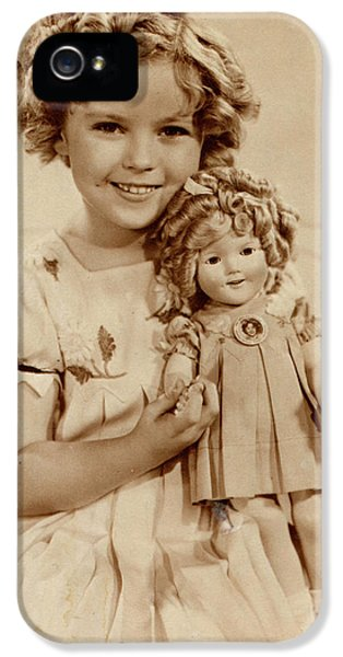 Shirley Temple iPhone 5s Case - American Film Actress Shirley  Temple by Mary Evans Picture Library