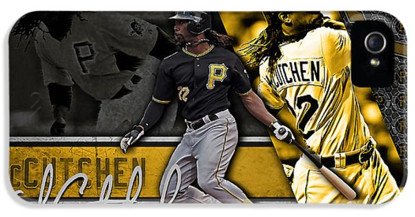 Andrew Mccutchen IPhone 5s Case by Marvin Blaine