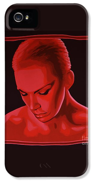 Annie Lennox IPhone 5s Case by Paul Meijering