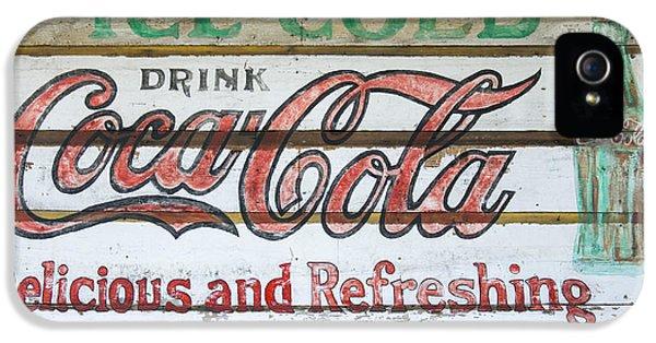 Antique Coca Cola Sign  IPhone 5s Case