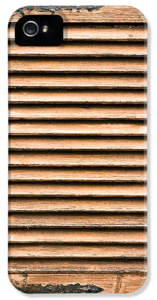 Antique Wooden Shutter IPhone 5s Case by Tom Gowanlock