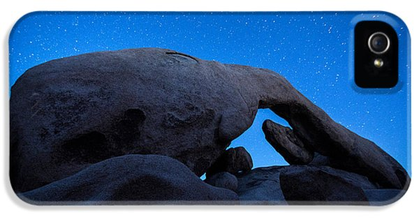 Arch Rock Starry Night 2 IPhone 5s Case by Stephen Stookey