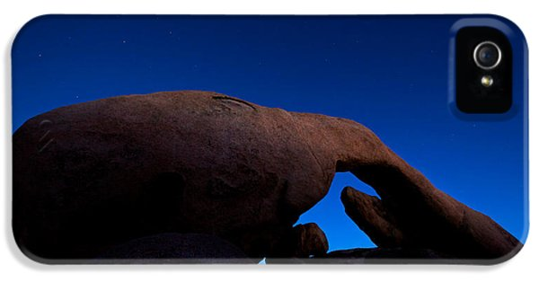 Arch Rock Starry Night IPhone 5s Case by Stephen Stookey