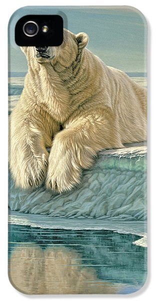 Polar Bear iPhone 5s Case - Arctic Heir by Paul Krapf