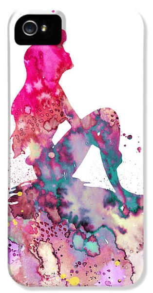 Extinct And Mythical iPhone 5s Case - Ariel 2 by Watercolor Girl