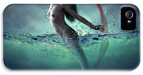Extinct And Mythical iPhone 5s Case - Ariel by Dmitry Laudin