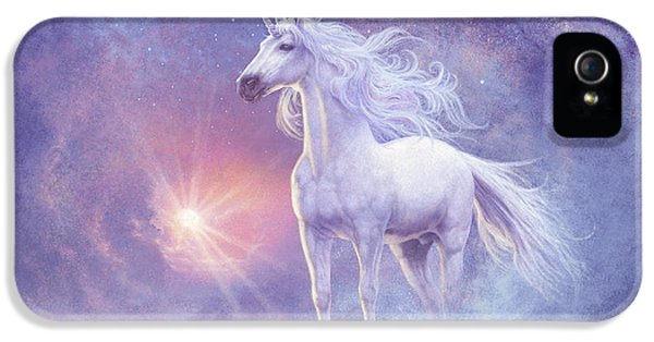 Astral Unicorn IPhone 5s Case by Steve Read