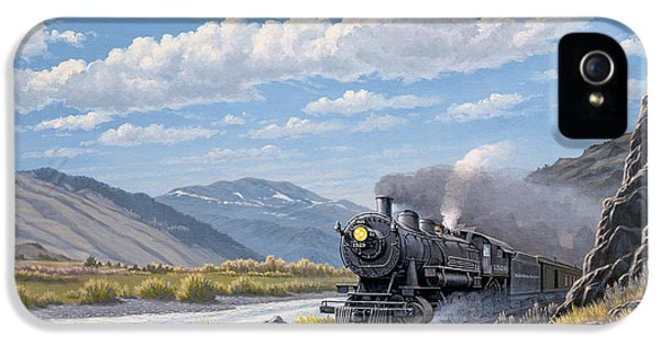 Train iPhone 5s Case - At Point Of Rocks- Bound For Livingston  by Paul Krapf