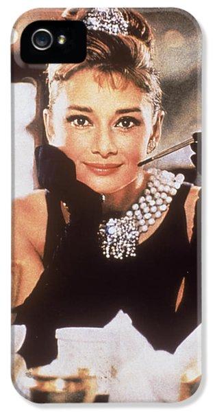 Audrey Hepburn IPhone 5s Case by Georgia Fowler