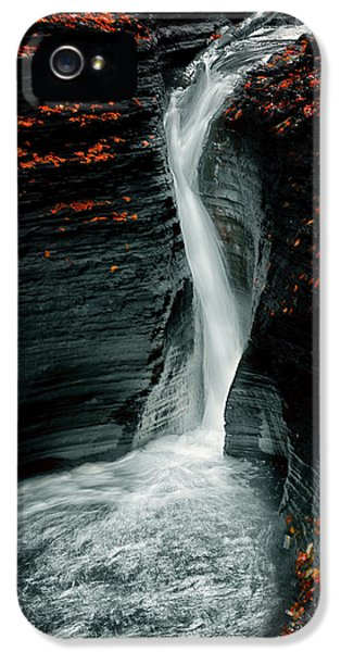 Flow iPhone 5s Case - Autume by Larry Deng