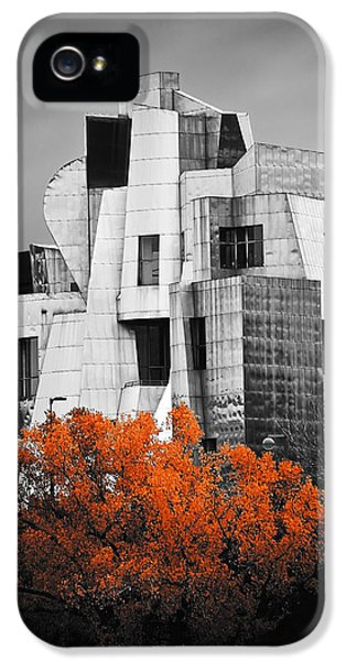 University Of Minnesota iPhone 5s Case - autumn at the Weisman by Matthew Blum