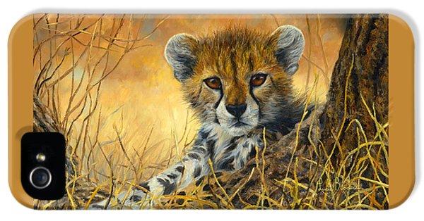 Baby Cheetah  IPhone 5s Case