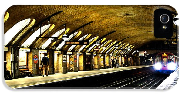 Baker Street London Underground IPhone 5s Case by Mark Rogan
