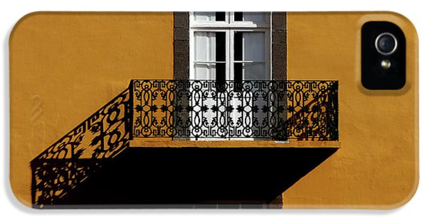 Facade iPhone 5s Case - Balcon by Hans-wolfgang Hawerkamp