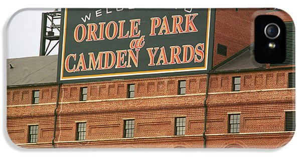 Baltimore Orioles Park At Camden Yards IPhone 5s Case by Frank Romeo
