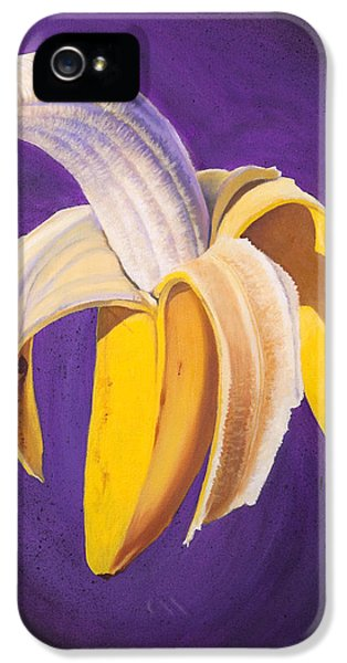 Banana Half Peeled IPhone 5s Case by Karl Melton