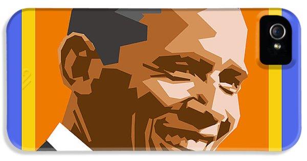 Barack Obama iPhone 5s Case - Barack by Douglas Simonson
