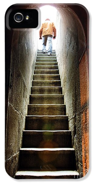 Dungeon iPhone 5s Case - Basement Exit by Carlos Caetano