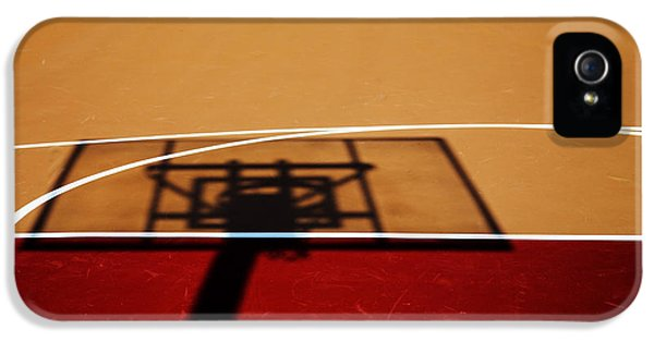 Basketball Shadows IPhone 5s Case by Karol Livote