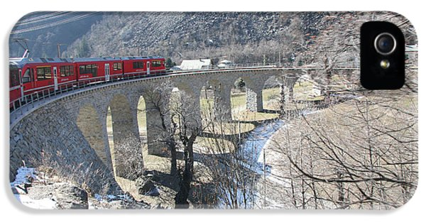 Bernina Express In Winter IPhone 5s Case