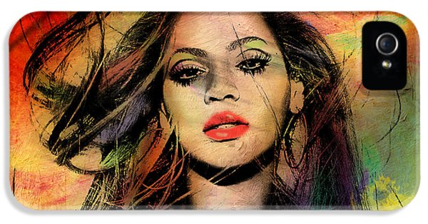 Hollywood iPhone 5s Case - Beyonce by Mark Ashkenazi