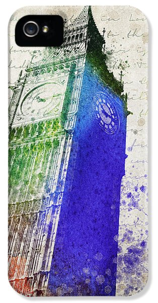 Big Ben IPhone 5s Case by Aged Pixel