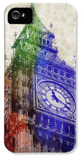 Big Ben London IPhone 5s Case by Aged Pixel