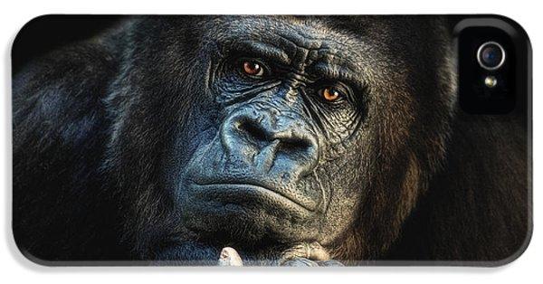 Gorilla iPhone 5s Case - Big Dreamer by Joachim G Pinkawa