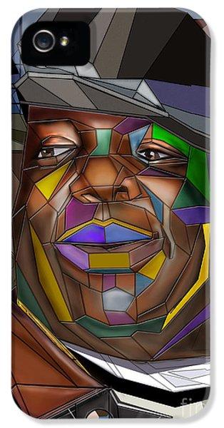 Biggie iPhone 5s Case - Biggie Living In Color by Reggie Duffie