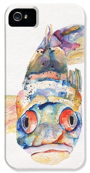 Blue Fish   IPhone 5s Case