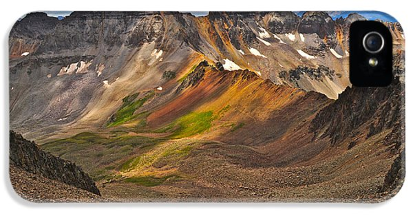 Blue Lakes Pass IPhone 5s Case by Aaron Spong