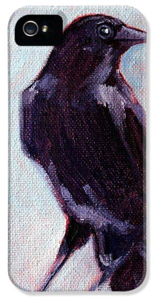 Blue Raven IPhone 5s Case by Nancy Merkle