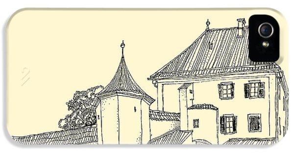 Castle iPhone 5s Case - Blutenburg Castle Near Munich, Bavaria by Babayuka