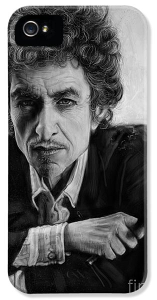 Bob Dylan IPhone 5s Case by Andre Koekemoer