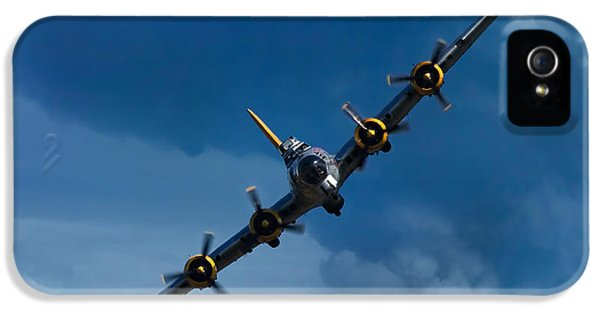 Airplane iPhone 5s Case - Boeing B-17 Flying Fortress by Adam Romanowicz