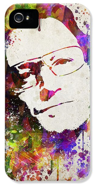 Bono In Color IPhone 5s Case by Aged Pixel