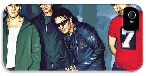 Bono U2 Artwork 5 IPhone 5s Case