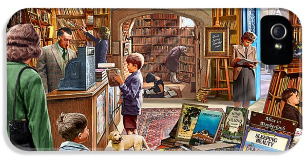 Bookshop IPhone 5s Case
